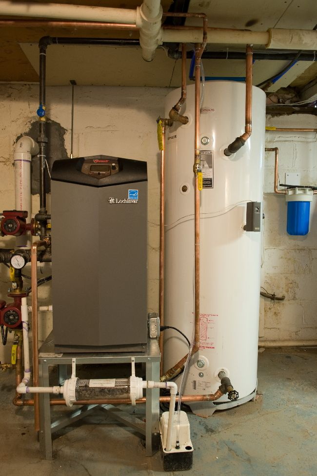 Instantaneous Water Heater >> Install Pic 2- Lochinvar Knight and Techtanium Indirect ...